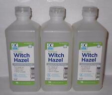Quality Choice Witch Hazel Astringent 16oz Bottle -3 Pack