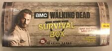 Topps WALKING DEAD SURVIVAL BOX Trading Cards NEW SEALED 4 Packs - Canada Seller