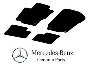 For Mercedes Benz W164 07-12 GL & 06-11 ML 4 Pc Black Carpet Floor Mats Set OES