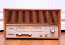 Restored! Nordmende Rigoletto S15 60s German Tube Radio Valve Amplifier FM MW LW