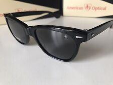 AO American Optical Saratoga Black Grey Polarized Nylon Sunglasses MADE IN USA