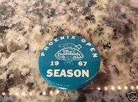 Phoenix Open 1967 PGA Golf Tournament Scottsdale Arizona Ticket Badge Pin