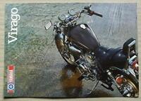 YAMAHA VIRAGO 981cc Motorcycle Sales Brochure 1986 #LIT-3MC-0107944-86E XV1000SE