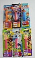 PEZ LOT SALE - Vintage Pez Movie Cartoon Character Candy & Dispenser VTG (6) Pez