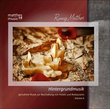 Hintergrundmusik, Vol. 6 [Gemafreie Musik, Klaviermusik, Filmmusik & Klassik] CD
