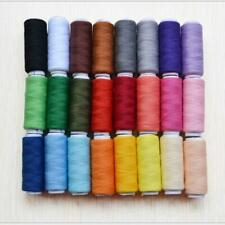 Sewing Thread Silk for embroidery Assorted Colors gitti Lot Of 24 Spools