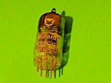 Mullard E88CC CV2493 Gold Pin Valve Tube NEW IN BOX Tested AVO Mk3