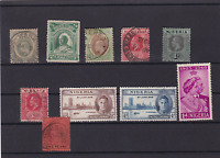 nigeria  mounted mint  and used stamps  ref r15231