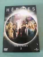 Heroes Seconda Stagione Season 2 - 4 DVD Spagnolo English Portuguese - 3T