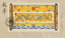 CANADA #1837 95¢ YEAR OF THE DRAGON SOUVENIR SHEET FIRST DAY COVER