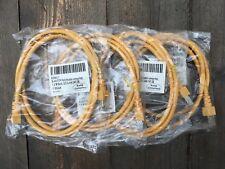 RJ45 FTP 300 Patchkabel umspritzt, 1,0 m gelb, ECOLAN CAT.5E K5463.1 99199163