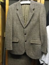 "Vintage 60s Dunn & Co Harris Tweed Made In Britain 44-46"" Chest VGC 100% Wool"