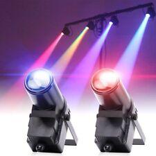 2PCS 20W RGBW LED Stage Lighting DMX Beam Pin Spot DJ Disco Bar Party Light