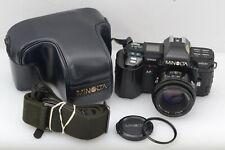 EXC+++ MINOLTA AF MAXXUM 7000 35mm SLR CAMERA w/50mm F/1.7 AF LENS, CASE, 2CR5++