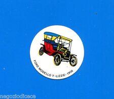 KICA -Sorprese Decalcomania Figurina-Sticker anni 60 -FORD MODELLO T LIZZIE 1901