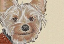 Yorkshire Terrier Small Blank Note Card