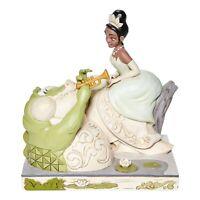White Woodland Tiana w/Loui Figurine Disney Jim Shore Traditions Princess & Frog