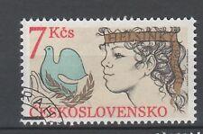 Tschechoslowakei Nr.  2822 A gest.  KSZE Schlußakte Friedenstaube