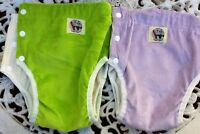 ORGANIC BAMBOO TPU WATERPROOF NIGHT DAY TOILET TRAINING PANTS*size M*ASD