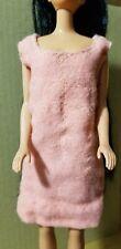 Vintage Handmade Barbie Coral Dress