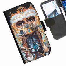 Fundas con tapa color principal negro de piel sintética para teléfonos móviles y PDAs