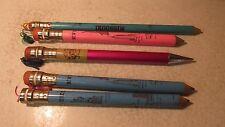 5 Old Giant Souvenir Pencils