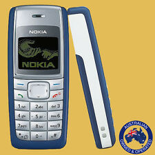 Genuine Unlocked Nokia 1110 White, Black, Red & Blue - Manufacturer Direct