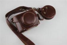 Leather case bag grip for For Olympus PEN E-PL9 EPL9 camera w/ 14-42mm EZ lens