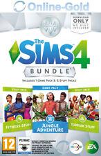 Les Sims 4 Dans la jungle+Accessoires Bambins+Fitness EA Origin PC - FR NO CD