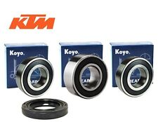 Rear wheel bearings and seals for KTM EGS620 1995-1997