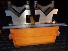 Precision V-Block & Clamp Set 100х105х80mm (2 pcs)Gr.2 Prismen Winkelprisma Satz