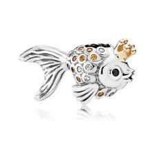 Authentic Pandora 14K Fairytale Fish Charm 792014CCZ