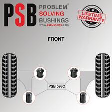 2 x Mercedes E Class W210 Front Lower Wishbone Arm Poly PSB Bushing Kit 96 - 02