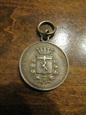 Ww I Italy 5Th Regiment 5 Fanteria Aosta .800 Silver Shooting Medal Very Rare!