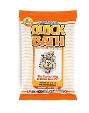 Bath Wipes Cats Fur Skin Conditioner Odor Reducer Quick Bath Extra Thick