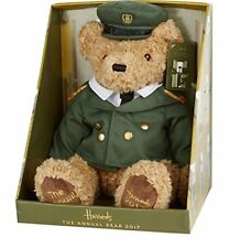 bb72f1497b0 2017 Harrods BOXED GREEN MAN BEAR Annual Edition Collectable Bear VERY RARE