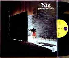 "YAZ / DON'T GO (RE-MIXES) - 12"" (printed in U.S.A. - 1982 Sire Records) EX+/NM"