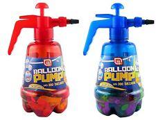 Bomba de globo con 300 globos de aire o agua bomba jardín Al Aire Libre Diversión Juegos Niños