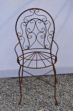 fauteuil de jardin pour enfant en fer