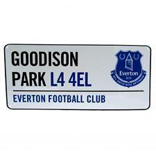 Everton FC Street Sign CALCIO GOODISON PARK l44el Stadium strada Club Team Nuovo