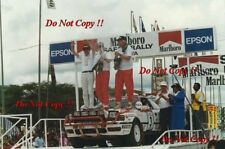 Bjorn Waldegard TOYOTA CELICA GT-FOUR ST165 SAFARI RALLY 1990 fotografia 5