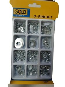 Stainless Steel Nut and Washer Sets Assorted Sizes
