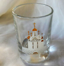 Shot glass for vodka Russian cathedral church St Petersburg souvenir Russia