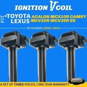 3x Ignition Coil for Toyota Avalon MCX10R Camry MCV20R MCV36R Lexus ES V6 3.0L