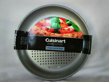 "Cuisinart Bakeware Mini Pizza Pan (SET OF 4) 7""  Non Stick Steel Gray Bake Ware"