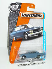 Matchbox 71 Nissan Skyline 2000 Gtx Flat Slate Blue 1:64 Free Ship