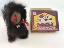 Vintage Jumping Dog Toy Japan Vintage With Box Wind Up