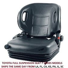 SEAT FULL SUSPENSION TOYOTA FORKLIFT 7FGCU45 7FGCU25 7FGU30 & 7FGCU15  -7 SERIES