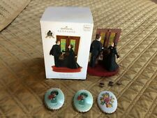 Hallmark Keepsake Frankly, My Dear Gone with the Wind 2009 Ornament + 3 Pins Hal