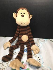 """VGUC-Rare-Retired-18"""" Jellycat Maximillian Monkey Brown Comforter Soother"""